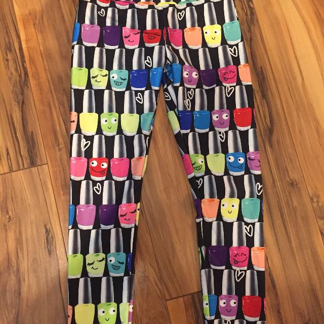 Find more Justice Nail Polish Leggings Size 7 for sale at up to 90% off