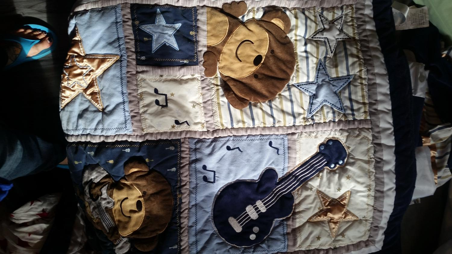 Find more monkey rock star crib bedding incl wall stickers for Rock star photos for sale