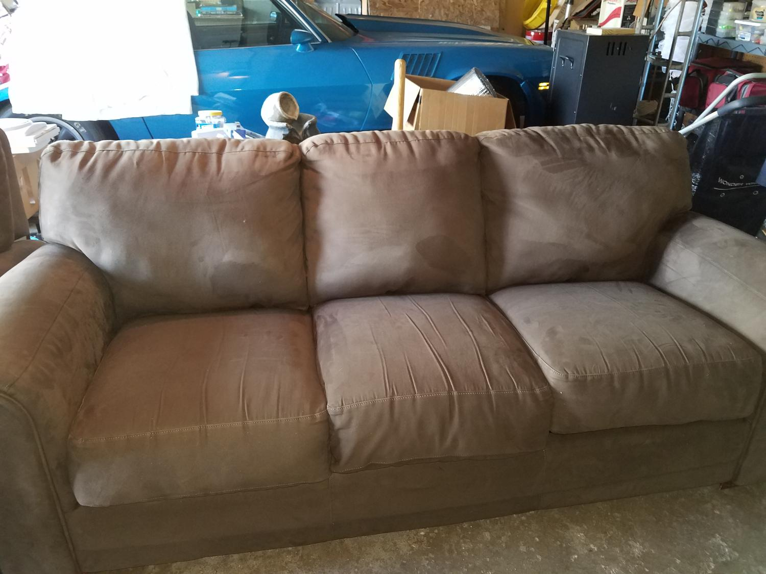 Find More Microfiber Couch For Sale At Up To 90 Off Peoria Il
