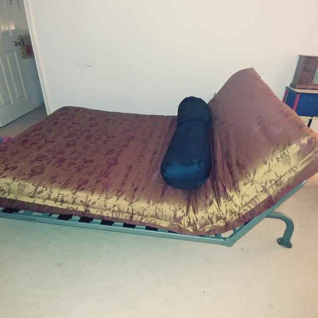 Futon That Lays Out And Sits Up 3 Ways