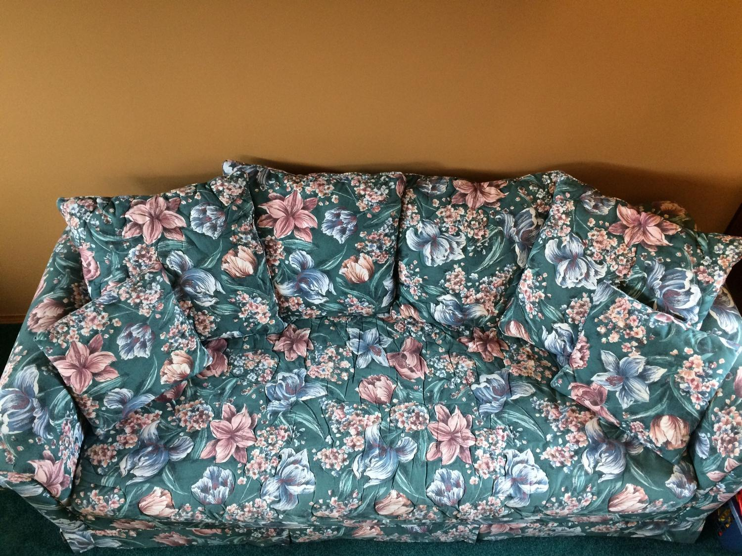 Find more floral couch for sale at up to 90 off for 80s floral couch