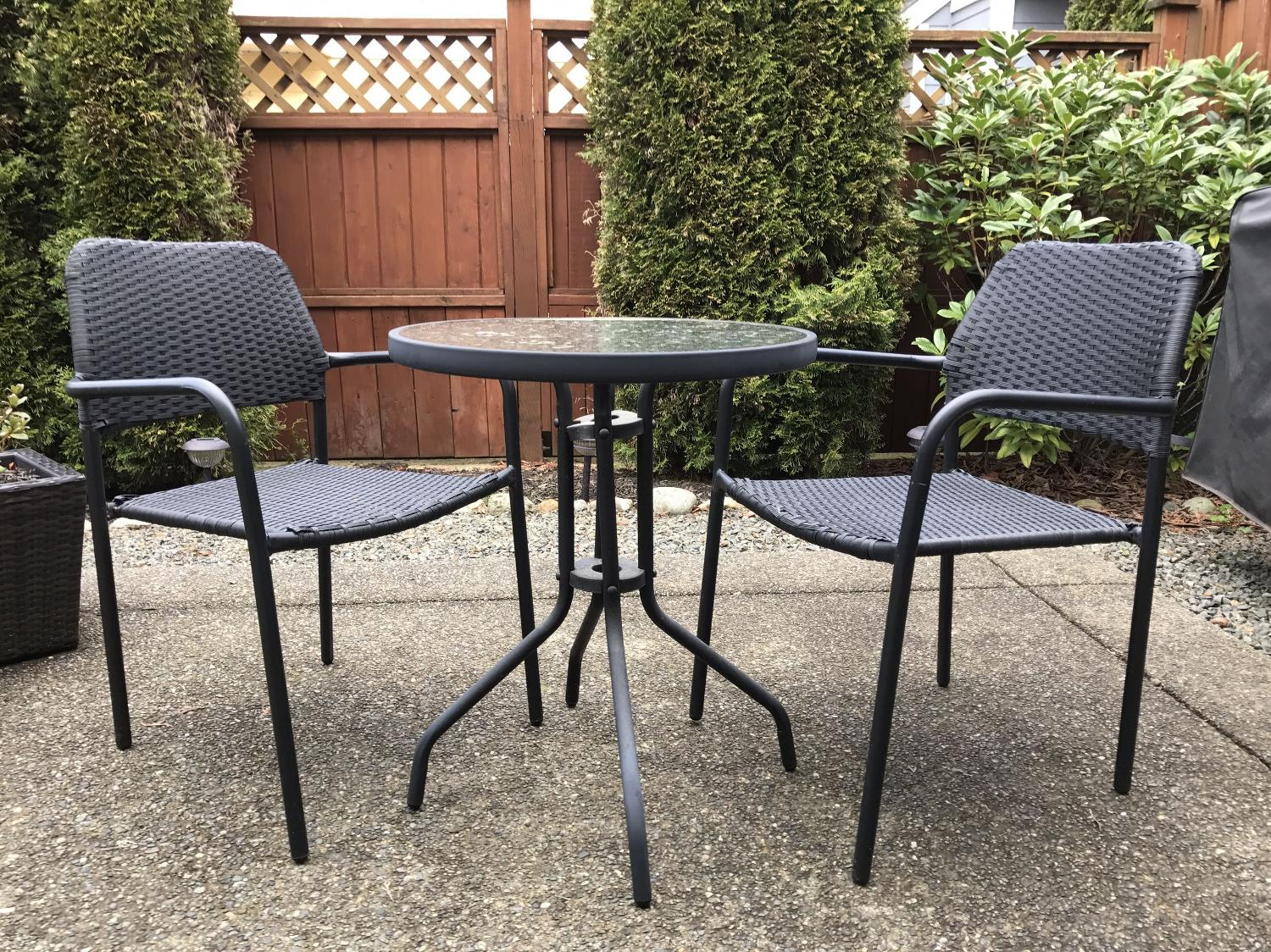 Find more patio table and chairs for sale at up to 90 off for Patio furniture covers amazon ca