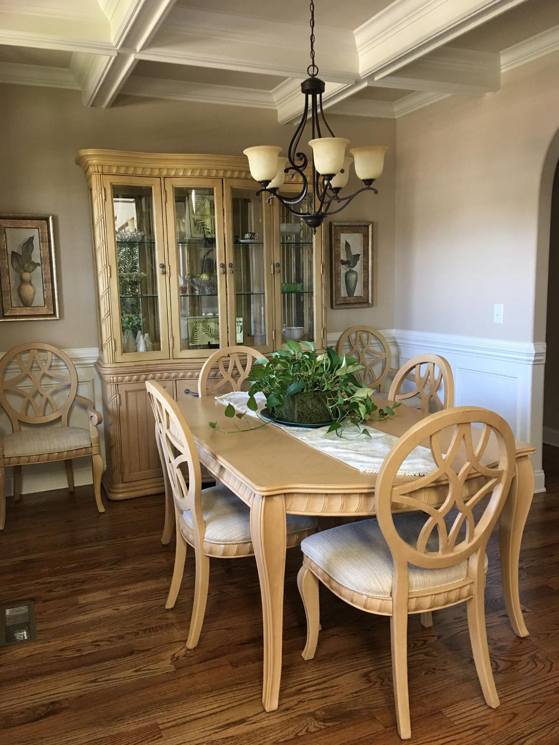 Find more formal dining room set table chairs buffet and for Formal dining room chairs for sale