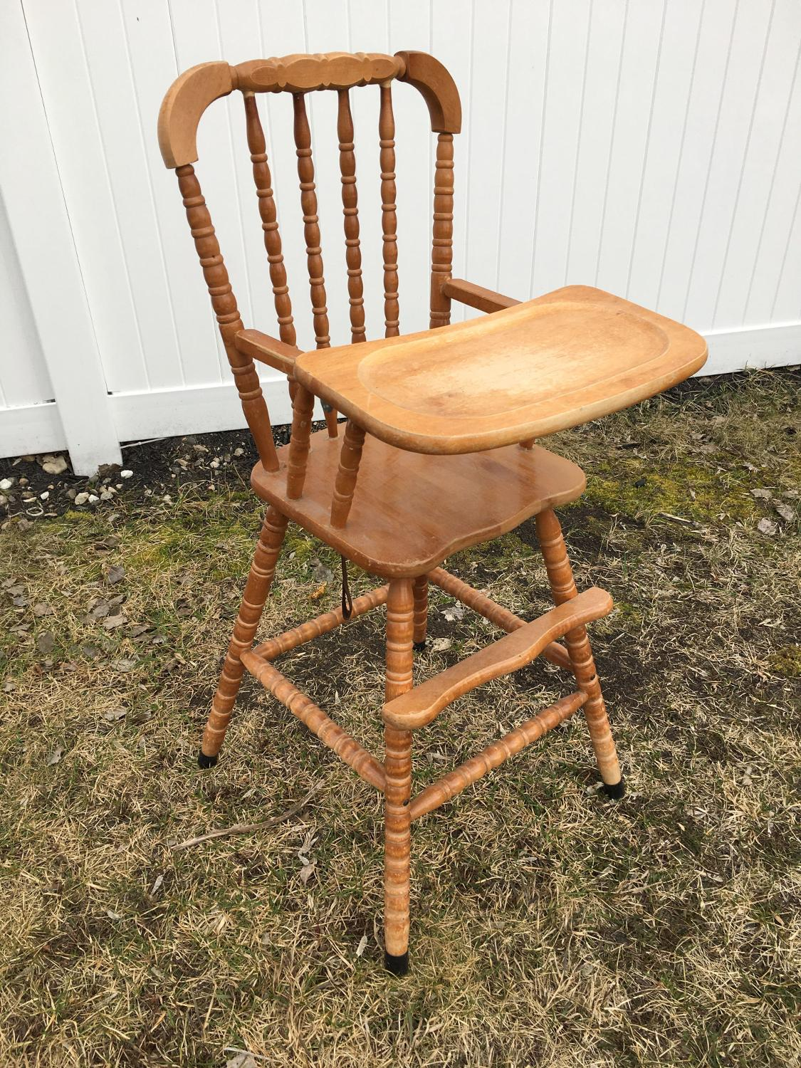 Find More Wooden High Chair With Removable Tray For Sale
