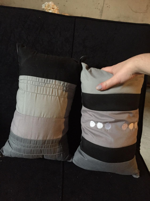 Best Small Purple, Grey And Black Decorative Pillows for sale in Regina, Saskatchewan for 2018
