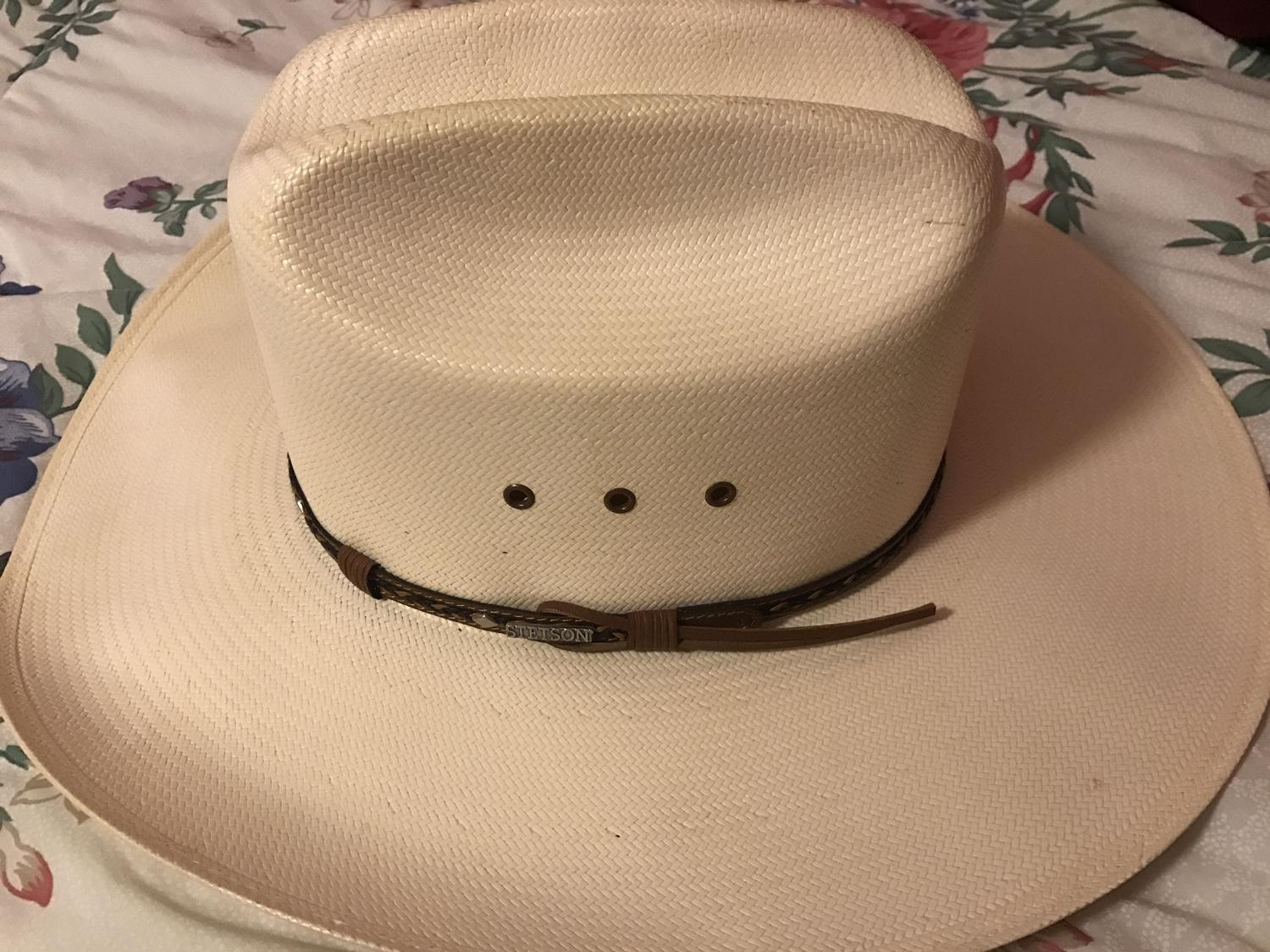 4f7a0f5b0 Men's Stetson cowboy hat PRICE REDUCED!