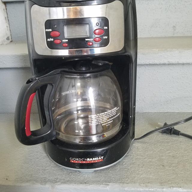 Gordon Ramsay Coffee Maker