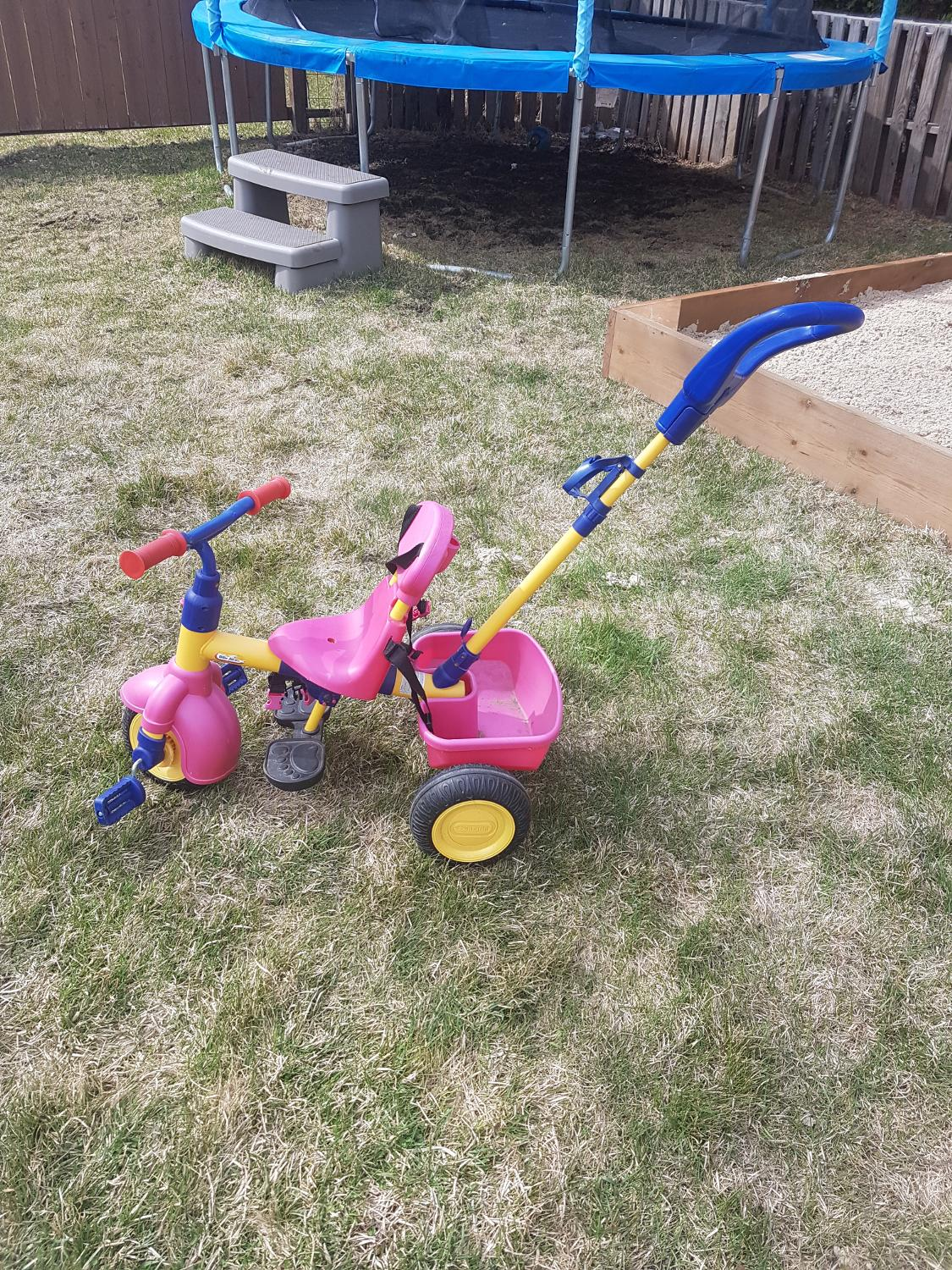 fisher price trike instructions
