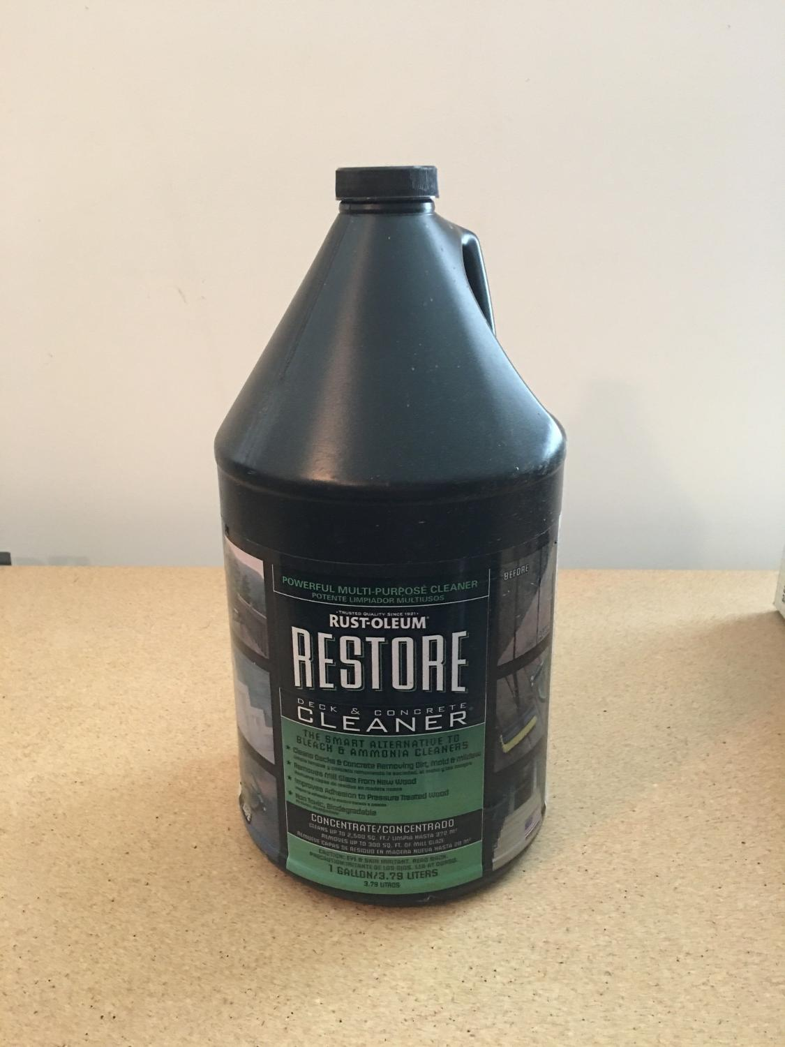 Find more restore brand deck and concrete cleaner 4 5 for Deck and concrete cleaner