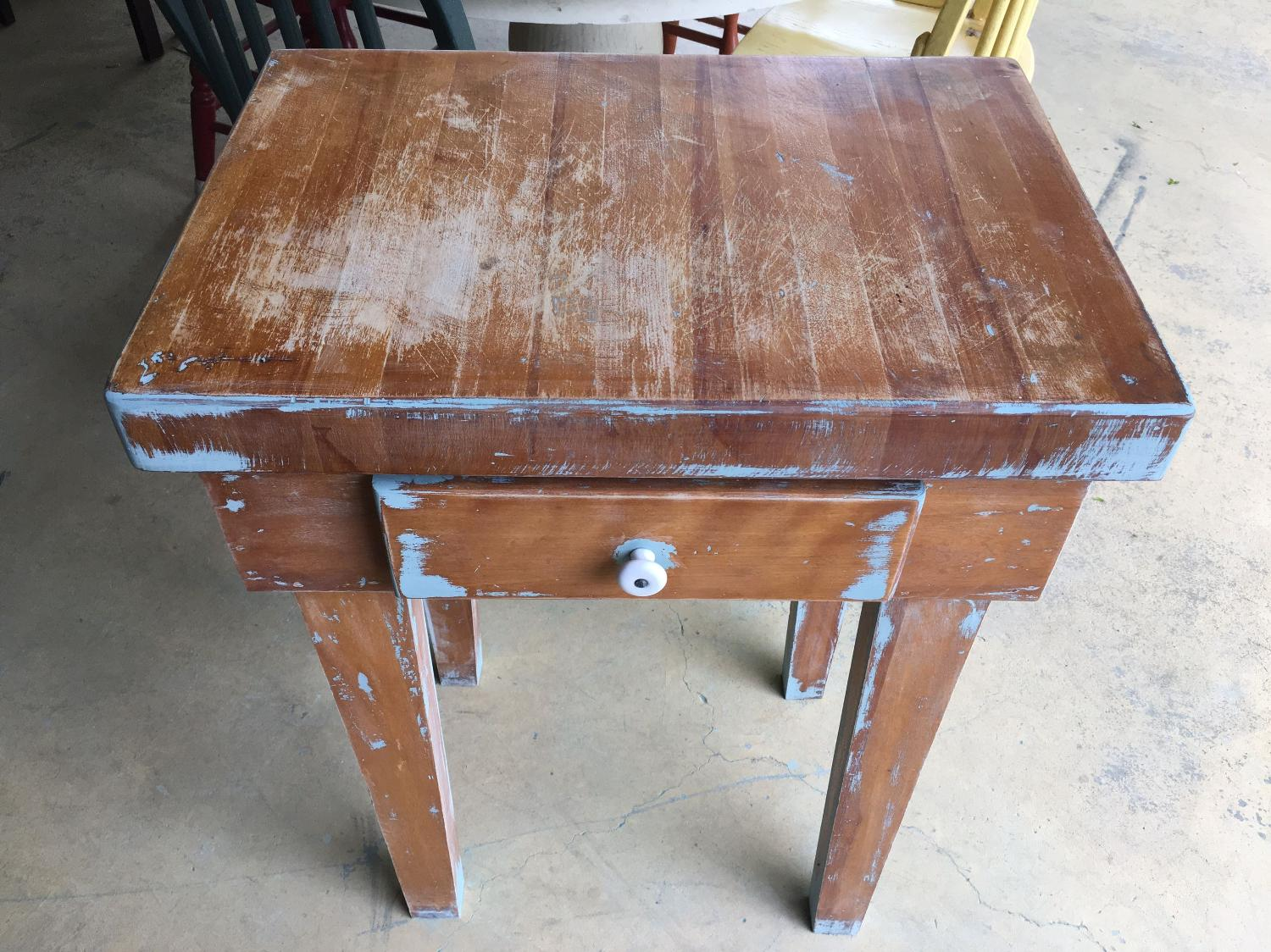 Buy Butcher Block Table Top: Find More Rustic Butcher Block Table Cross Posted Ppu