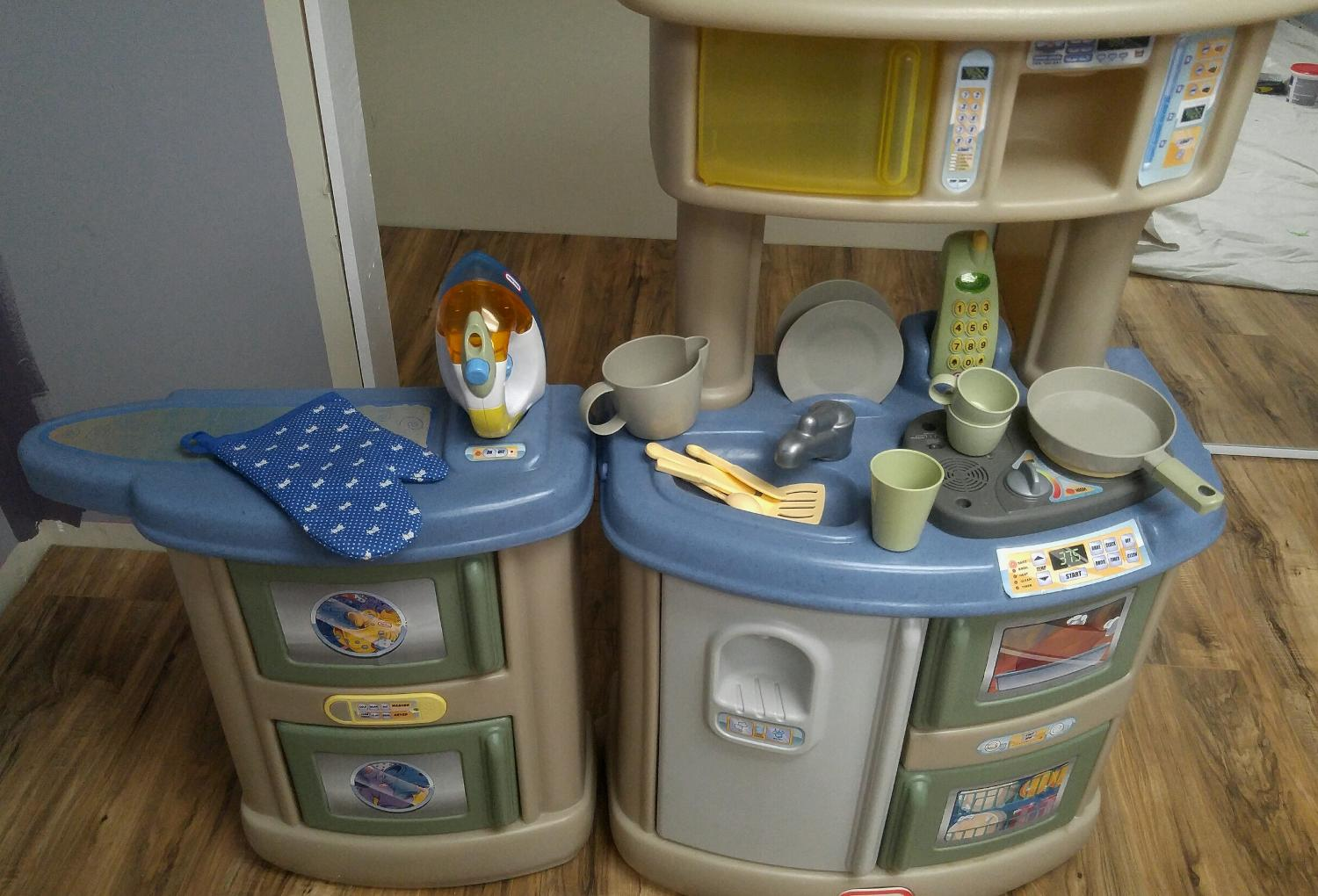 Find more little tikes kitchen laundry set price drop for Kitchen set from the 90 s