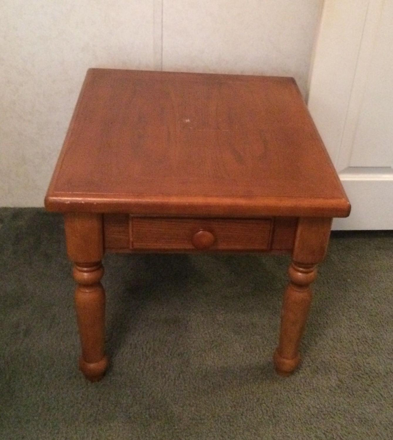 Best Price Drop Real Wood End Table 1 For Sale In Sumter South Carolina For 2018