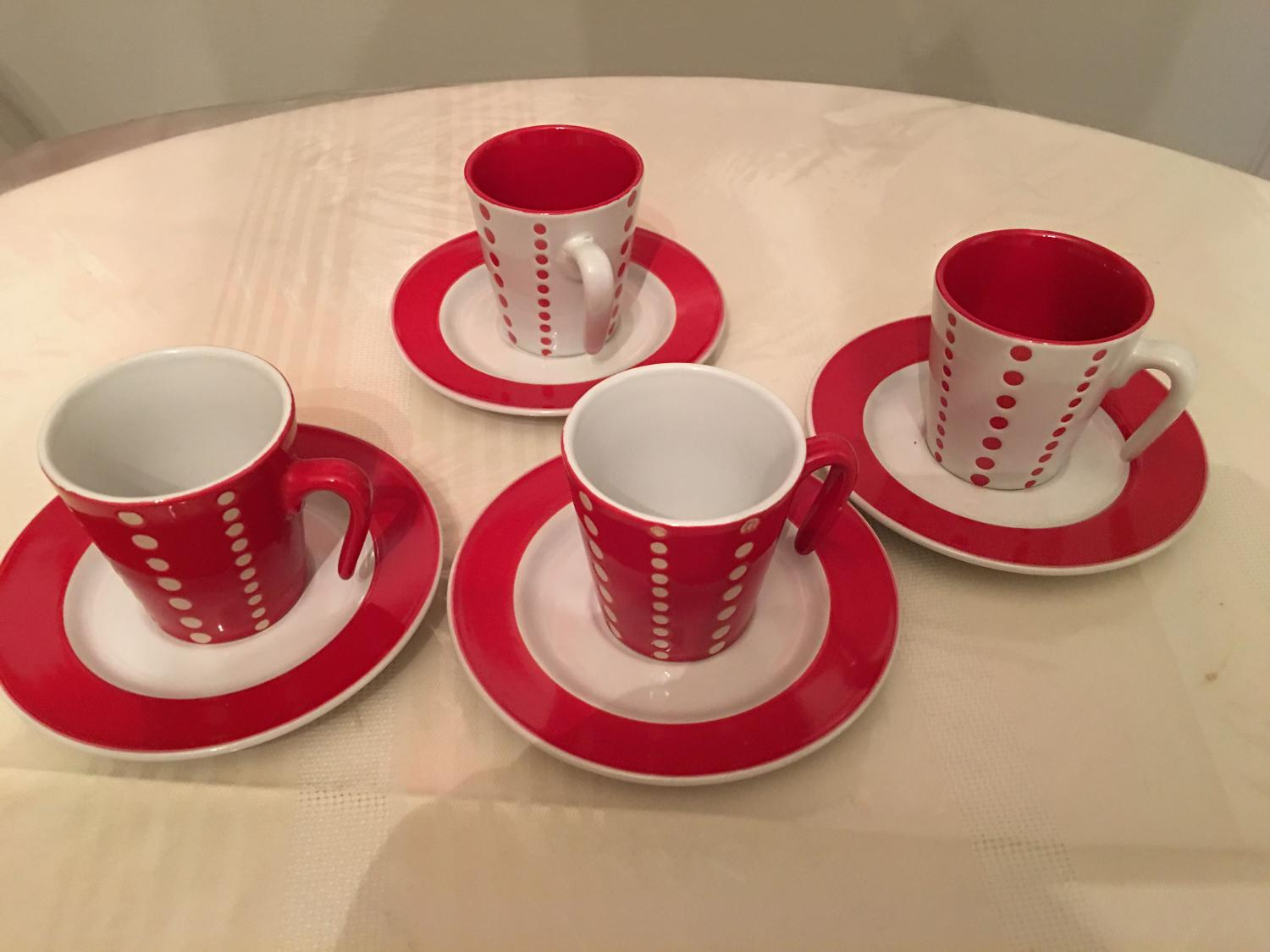 Best Darling Set Of Four Small Coffee Cups For Sale In