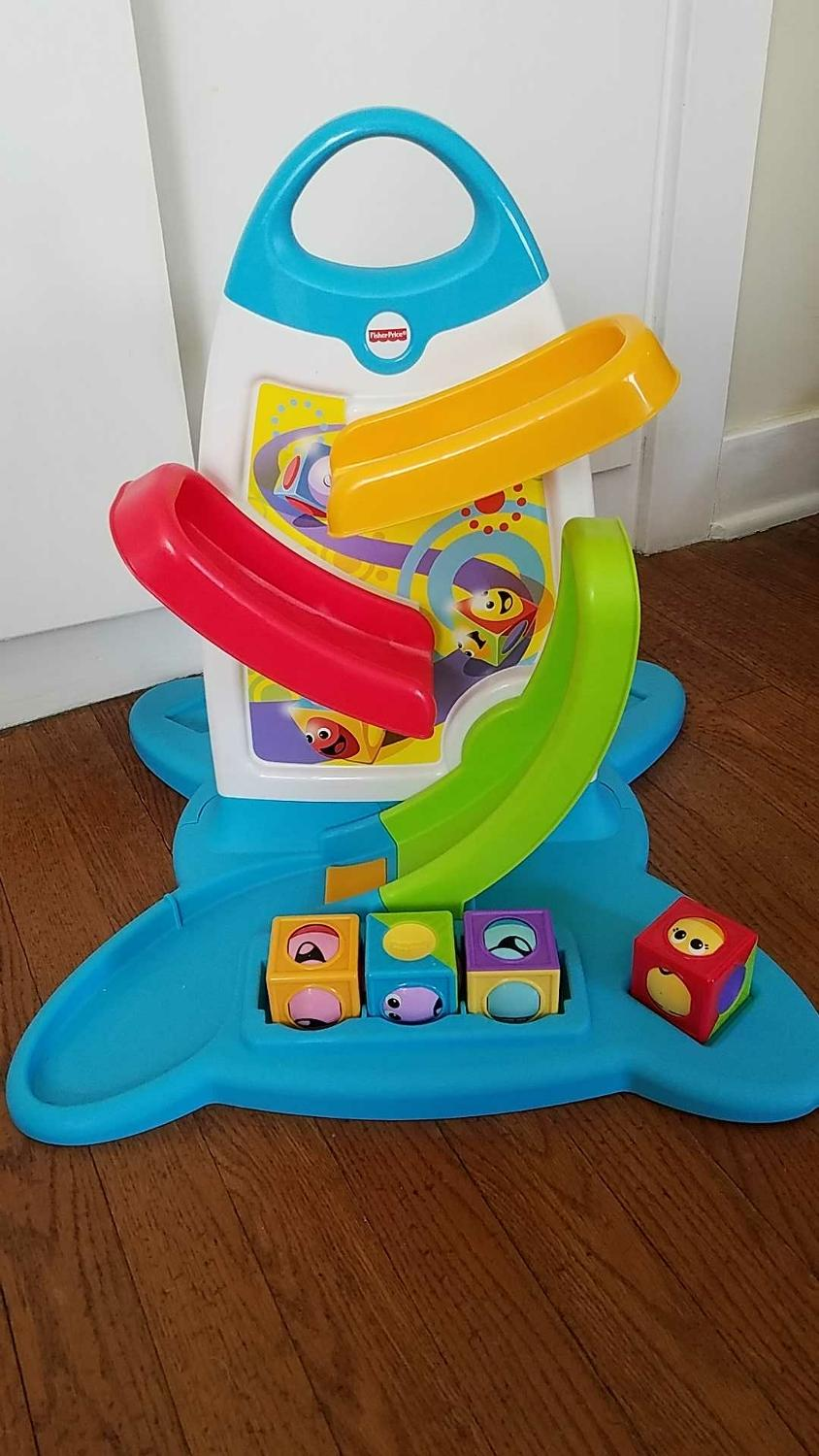 Find More Fisher Price Roller Blocks Play Wall For Sale At