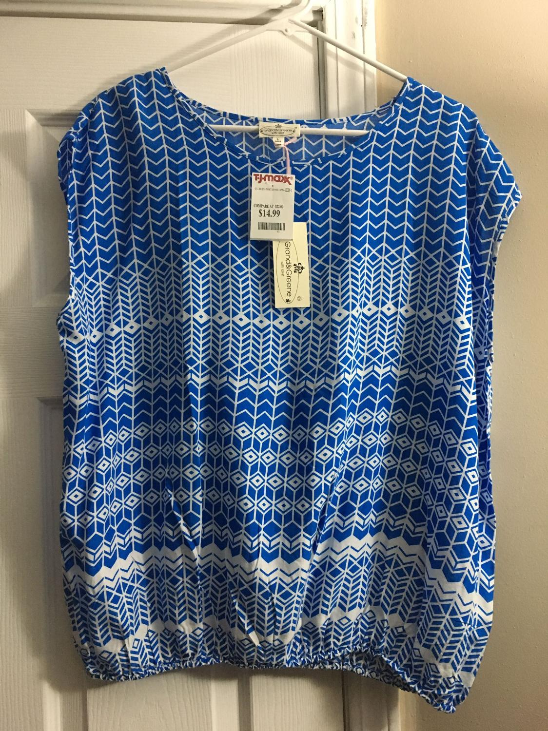 Best Nwt Women 39 S Top Size L From Tj Maxx For Sale In