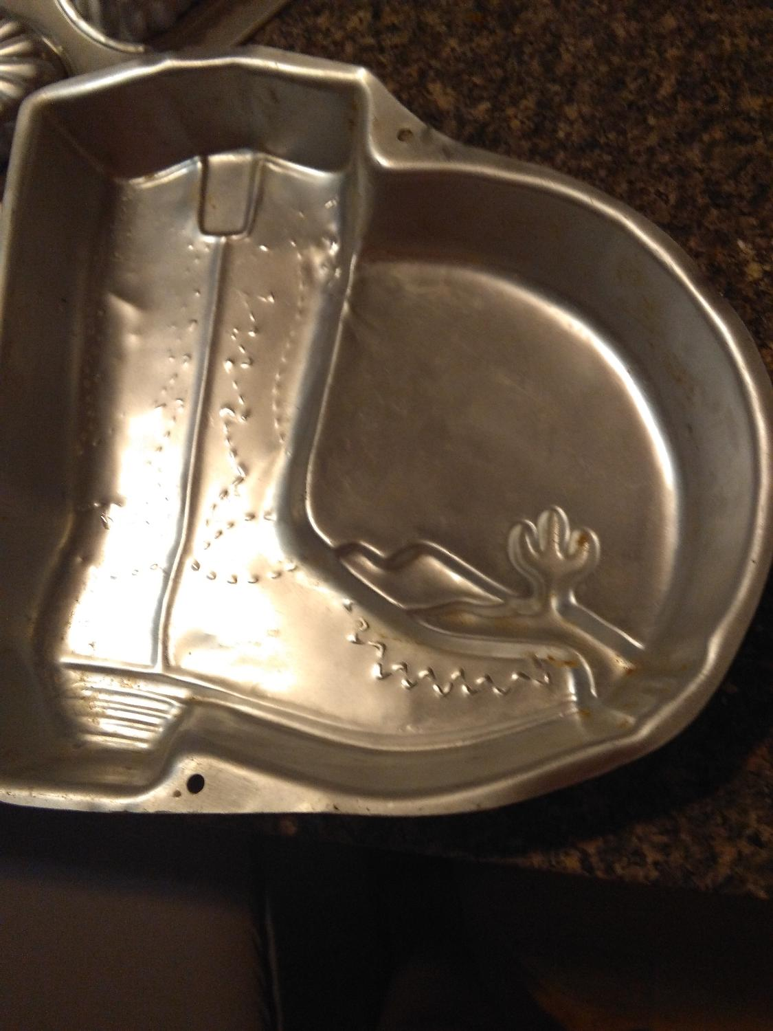 Find More Cowboy Boot Cake Pan For Sale At Up To 90 Off
