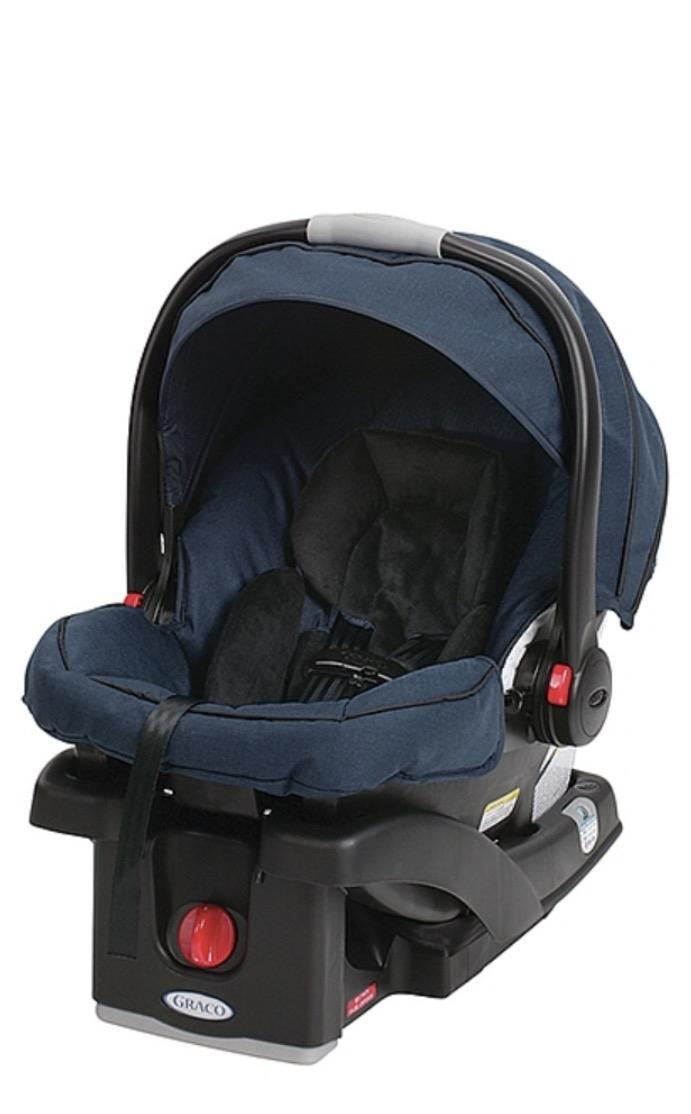 best graco blue navy infant car seat almost brand new for sale in brockton village ontario. Black Bedroom Furniture Sets. Home Design Ideas