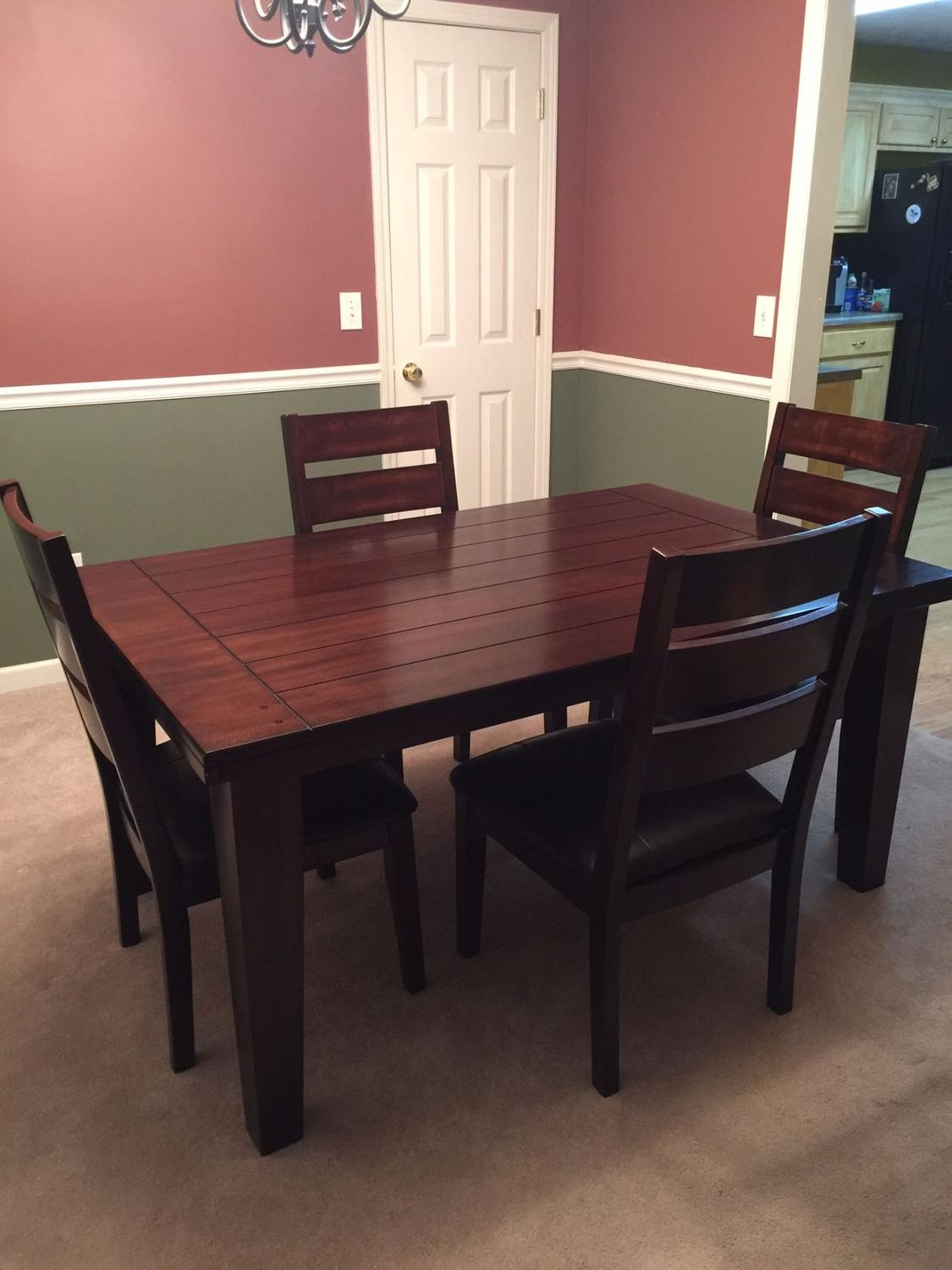 Find More Ashley Furniture Kitchen Dining Table With 4 Chairs For Sale At Up To 90 Off