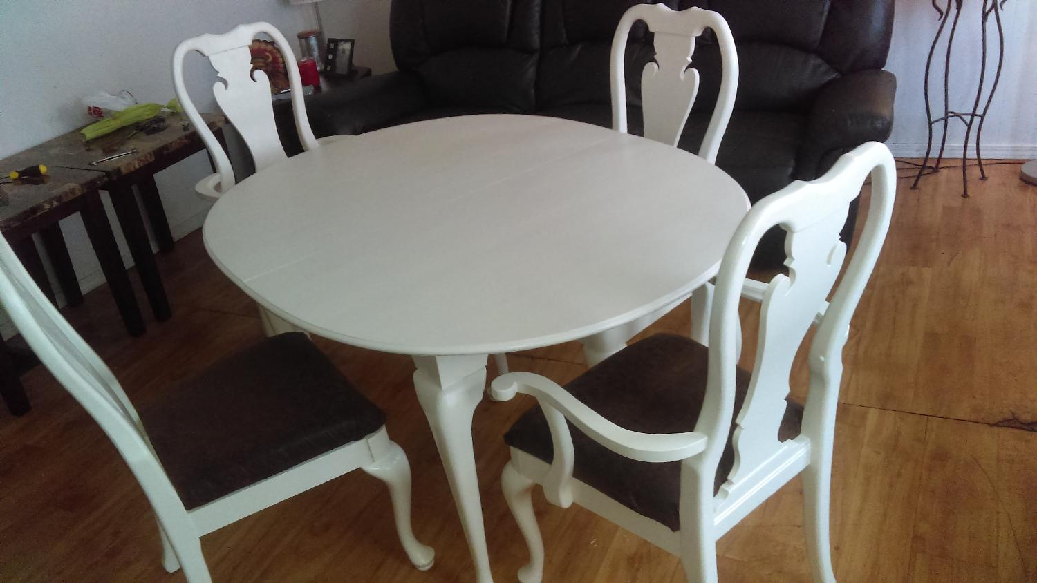 Find more beautiful all wood kitchen table and chairs for for Beautiful kitchen table and chairs