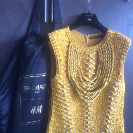 Used, H&M Balmain sleeveless rope top.... for sale  Canada