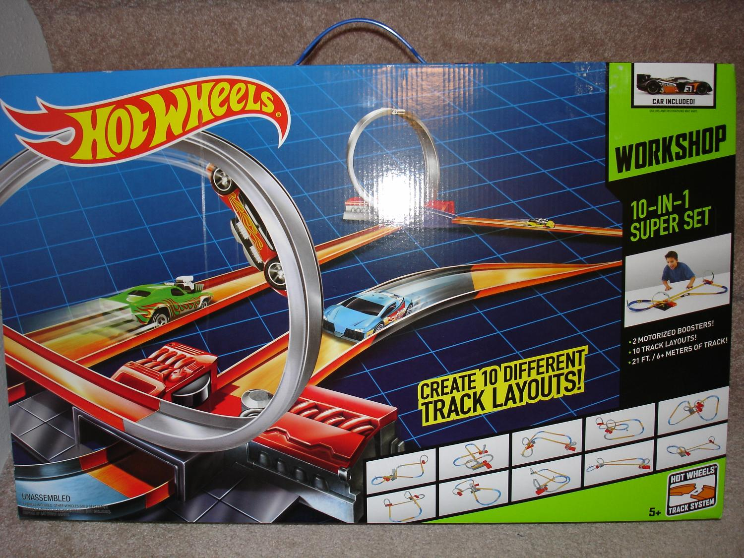 Best Hot Wheels 10 In 1 Track For Sale In Minot North