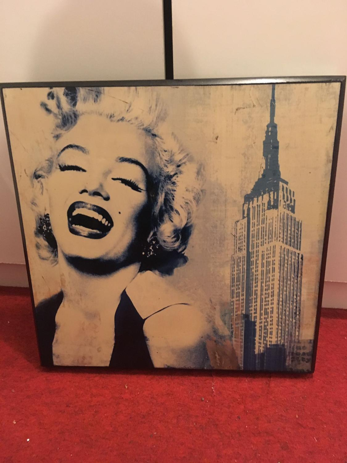 Find More Marilyn Block Wall Decor For Sale At Up To 90