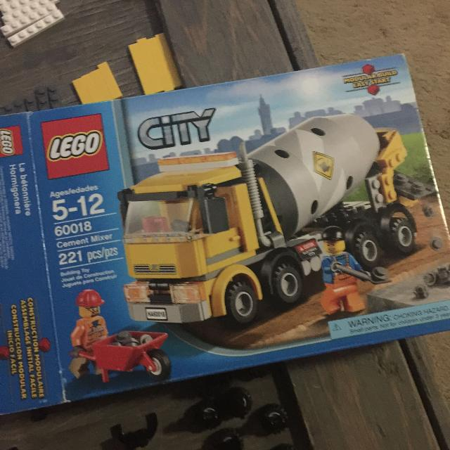 Find More Used Lego City 60018 Cement Mixer For Sale At Up To 90 Off