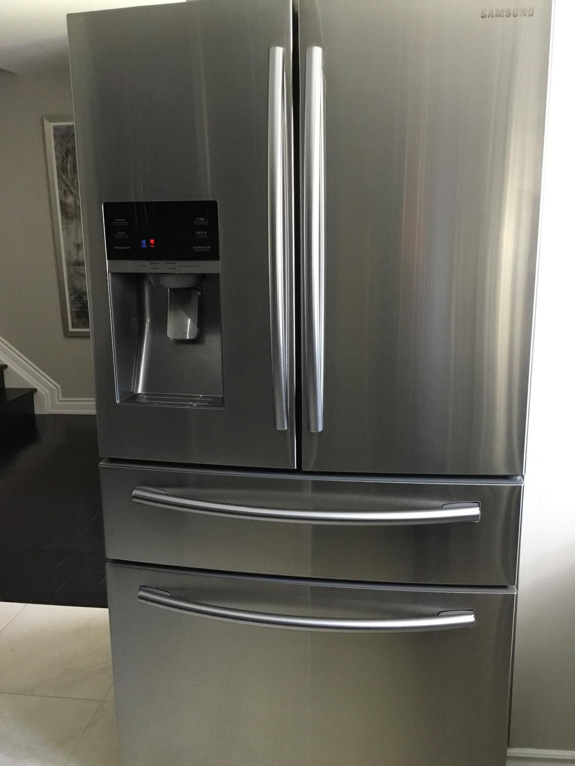 Best samsung 28 cu ft french door refrigerator stainless for 1500 french doors