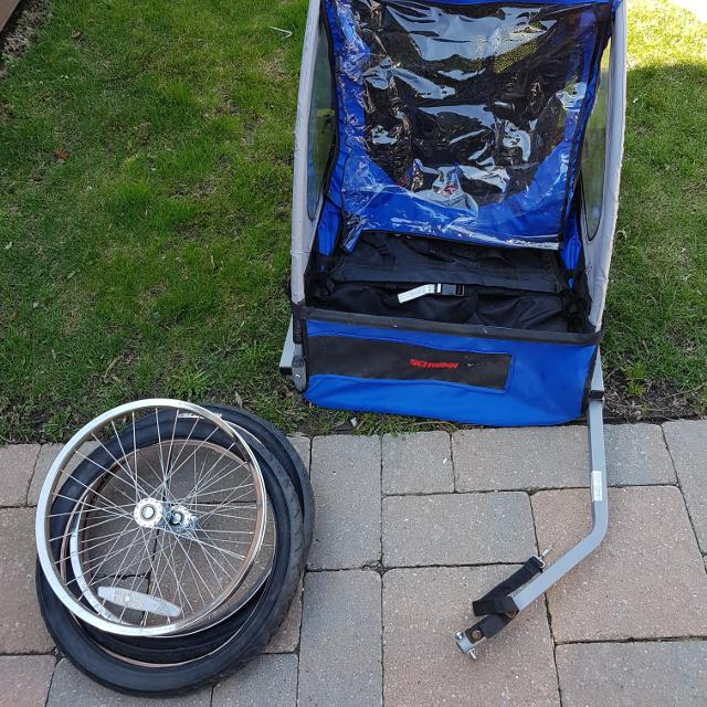 Find More Schwinn 2 Seater Bike Trailor Carrier For Sale At Up To