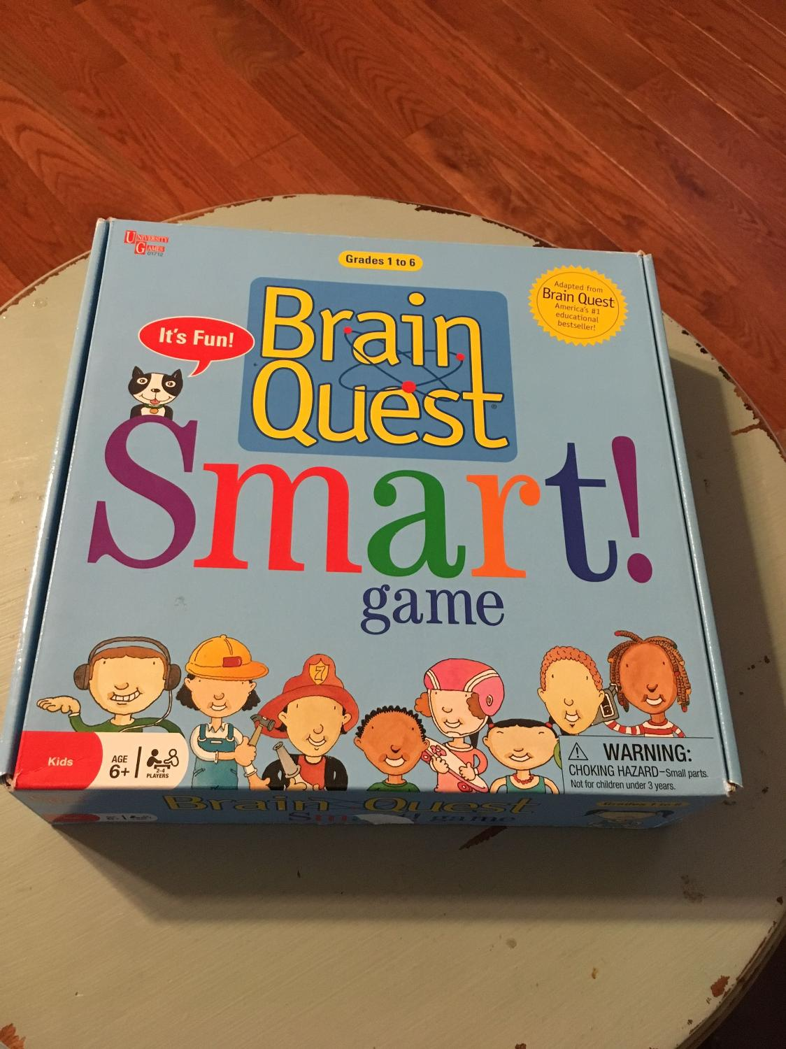 brain quest smart game instructions