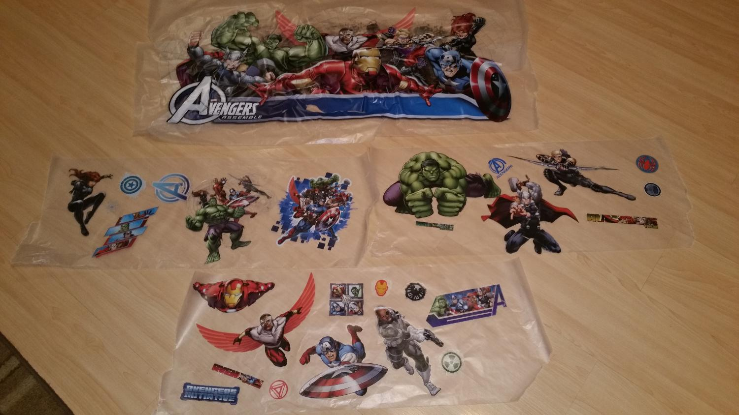 Best avengers wall decals reduced for sale in airdrie for Avengers wall mural amazon
