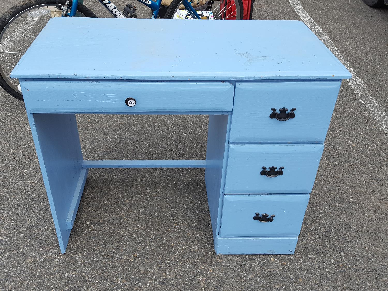 Find more cute bright blue desk for sale at up to 90 off for Furniture ellensburg