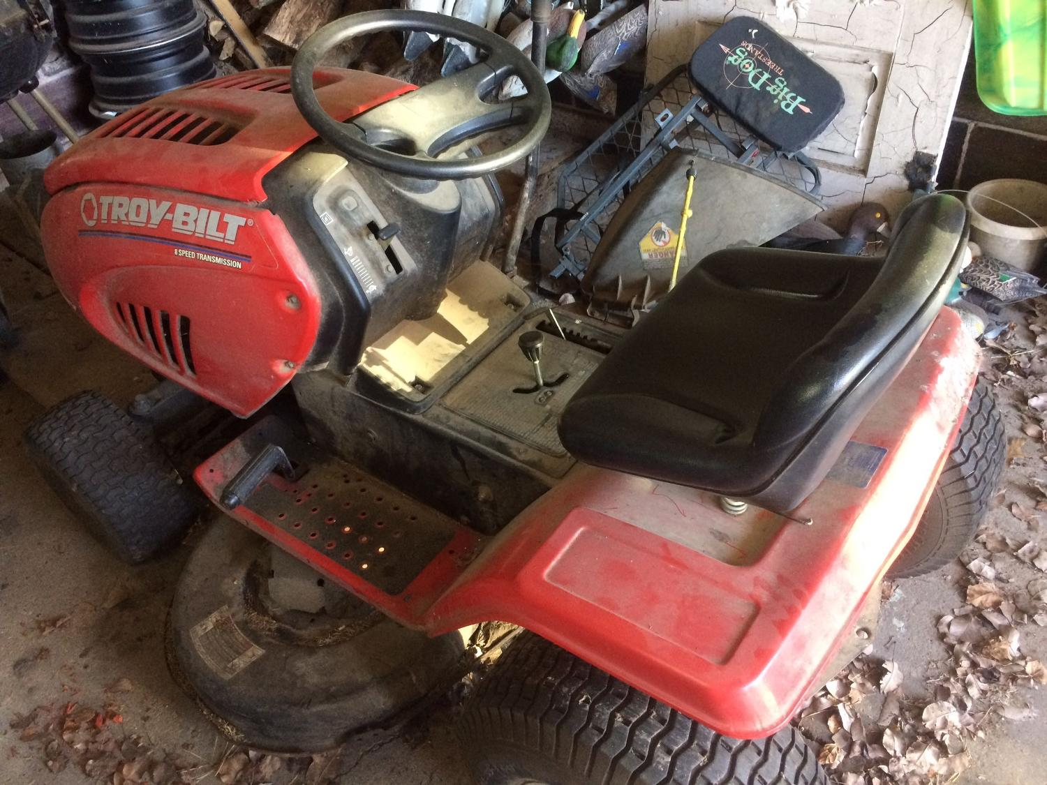 Best Troy Belt Mower For Sale In Jefferson City Missouri