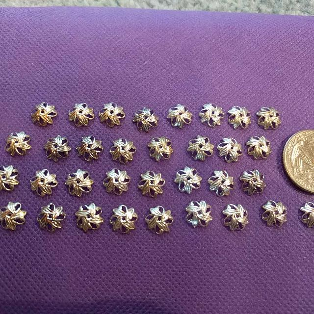 Kroger Gallatin Tn >> Find more Lot Of Silver Plated Bead Caps. Sized 9mm ...