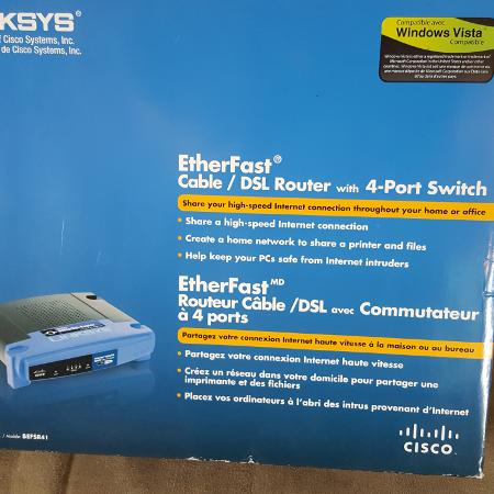 EtherFast cable/DSL Router, used for sale  Canada