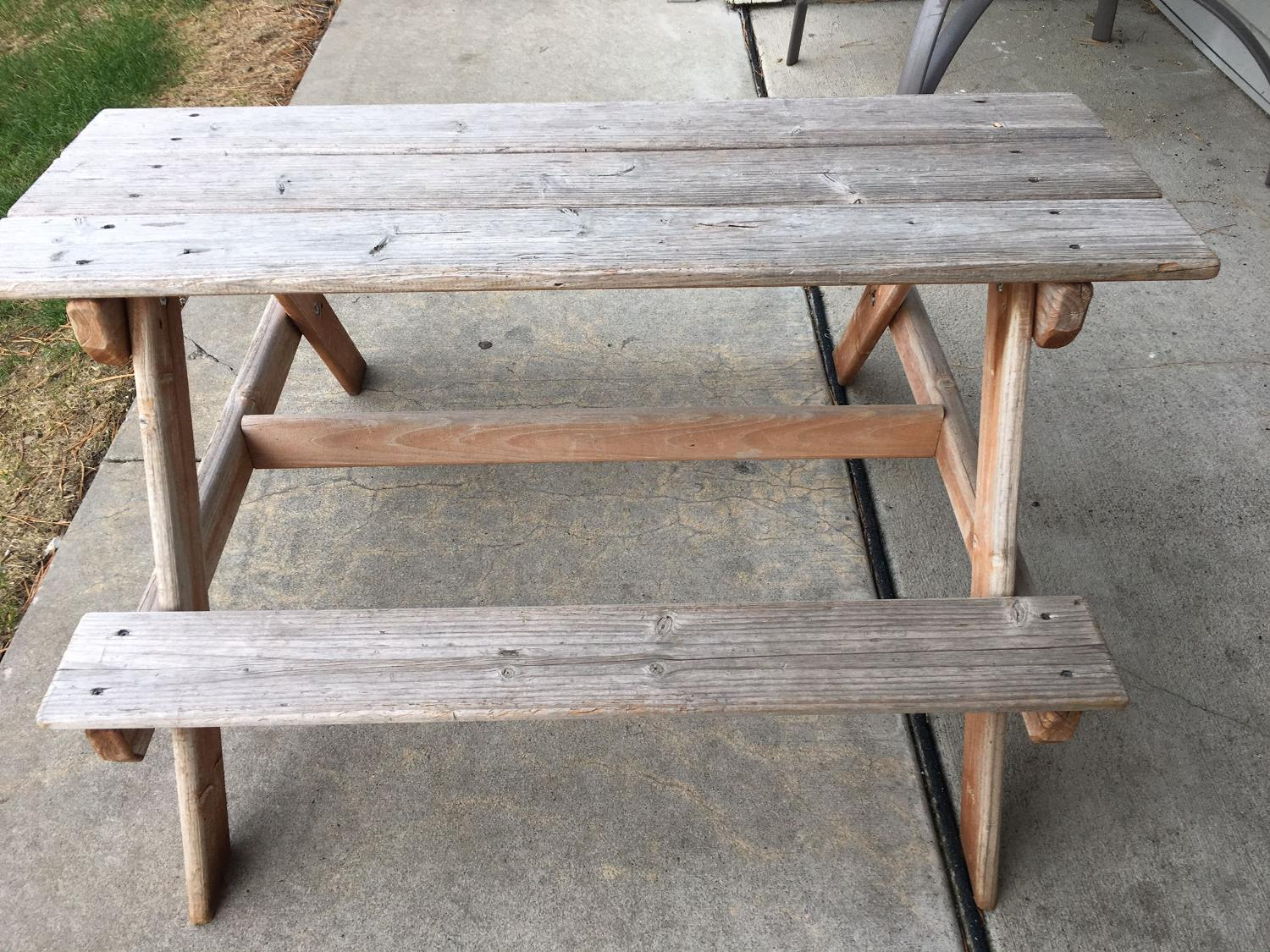 Find More Kids Picnic Table For Sale At Up To 90 Off Overland Park Ks