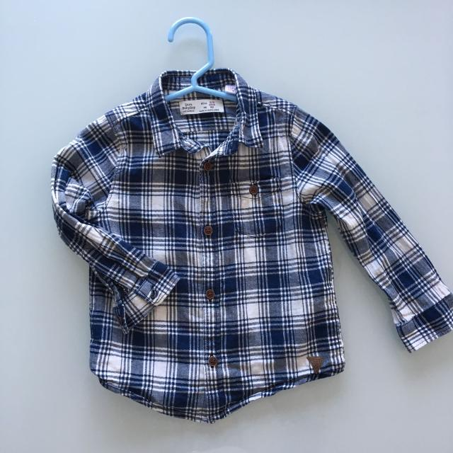 Find more Price Drop  7 Zara Baby Boy Checkered Shirt- Size 2-3 for ... 2f8f0a1cfd9