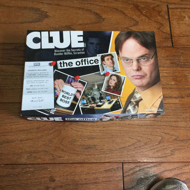 The Office Clue Board