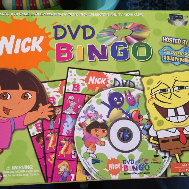 Nick DVD Bingo Set