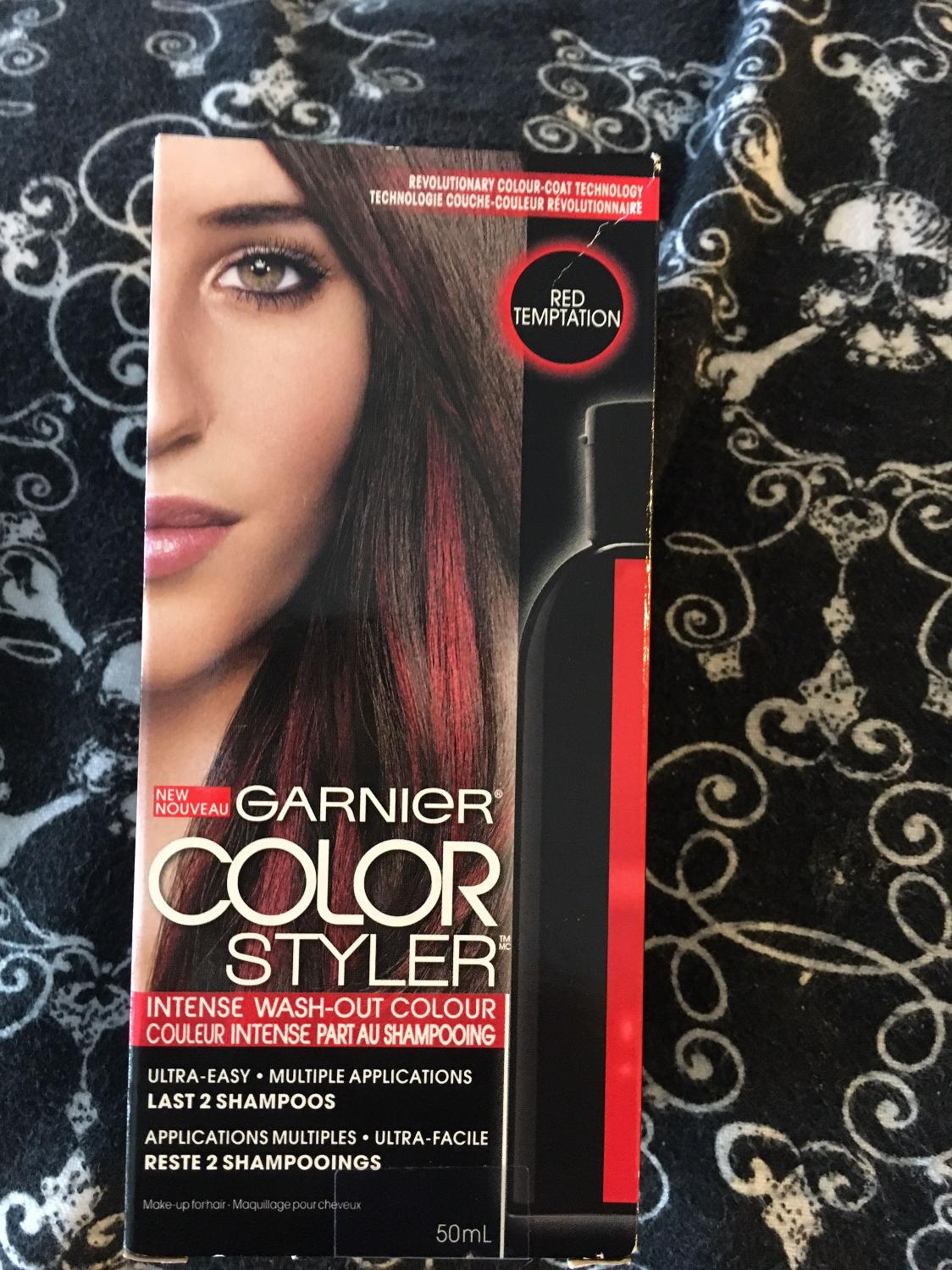 Find More Garnier Color Styler Wash Out Red Hair Colouring Reduced