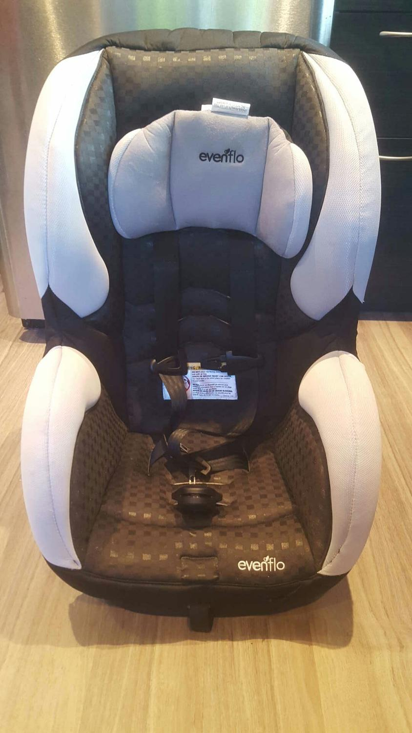 find more excellent condition evenflo titan 65 convertible car seat for sale at up to 90 off. Black Bedroom Furniture Sets. Home Design Ideas