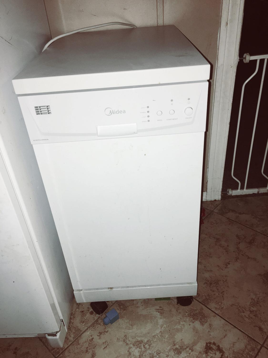how to connect danby portable dishwasher