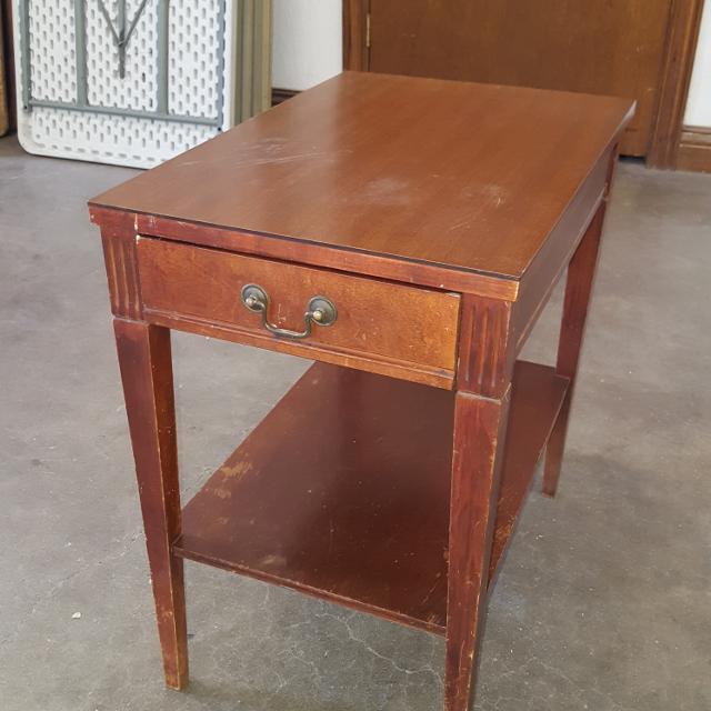 Best Antique Mersman Side Table for sale