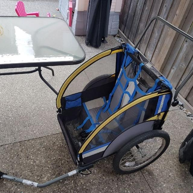 Find More Schwinn 2 Seater Bike Trailer In Excellent Condition