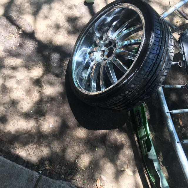 Best 24 Inch Rims And Tires Price Negotiable For Sale In