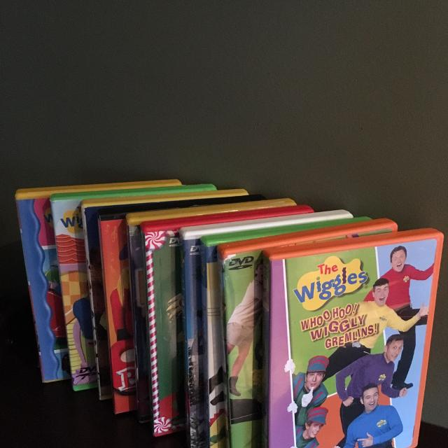 Find More The Wiggles Dvd Set Of 10 For Sale At Up To 90