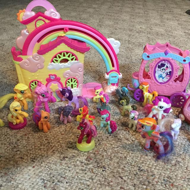 Find More 2007 Hasbro Ponyville My Little Pony Rainbow Dash House
