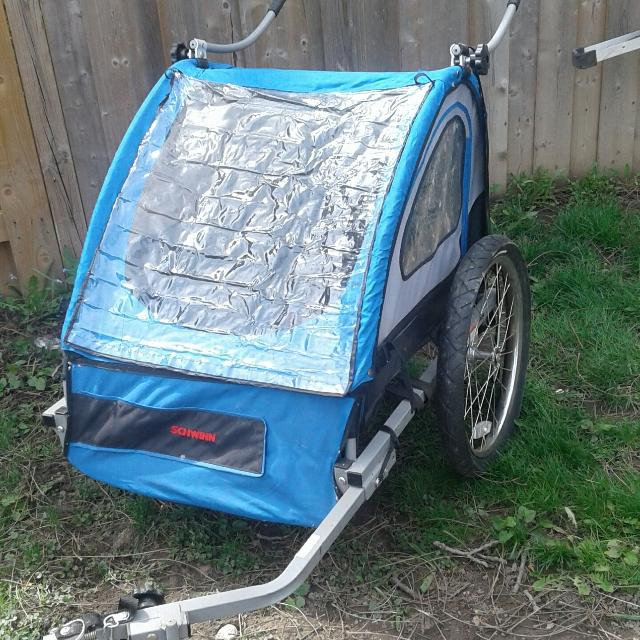 Find More Schwinn 2 Seat Bike Trailer Stroller For Sale At Up To
