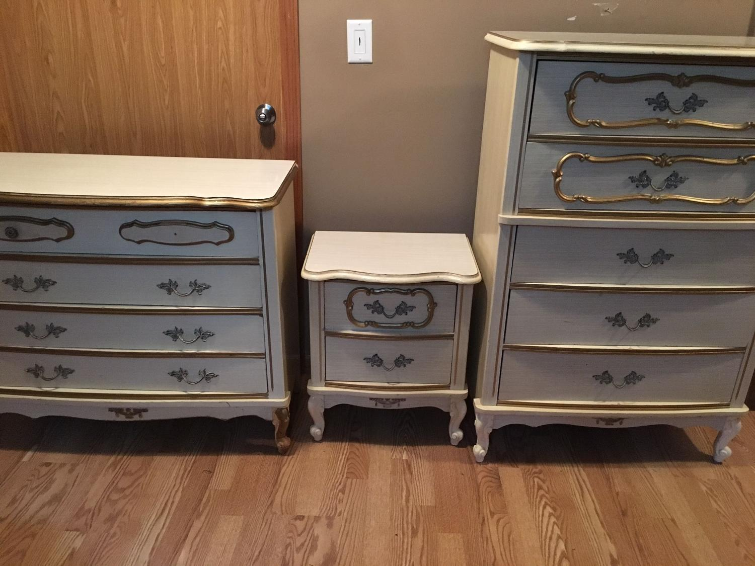 find more vintage bonnetsears french provincial three