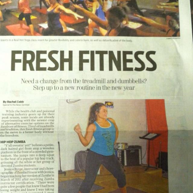 Zumba fitness with Jessica in Karns, Tennessee for 2018